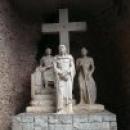 Скульптурная композиция на тропе «Путь Христов».
