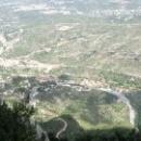Панорамный вид с канатной дороги, Монтсеррат.