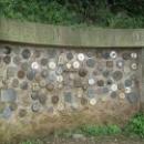 Стена Сардана в Монтсеррат.