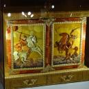 Экспонаты в музей янтаря в Калининграде.