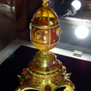 Пасхальное яйцо, А.М. Крылов. Музей янтаря в Калининграде.