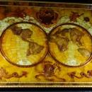 Карта мира XV века. Музей янтаря в Калининграде
