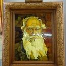 Портрет из янтаря Ф.М. Достоевского. Музей Янтаря в Калининграде.