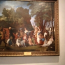 Коллекция оружия и картин в залах Замка Святого Ангела.