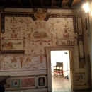 Роспись стен в Замке Святого Ангела. Рим. Италия.