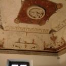 Потолок в залах Замка Святого Ангела. Рим.