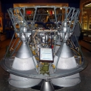 Жидкостный ракетный двигатель РД-0110. Музей космонавтики и ракетной техники имени В.П. Глушко в Санкт-Петербурге.