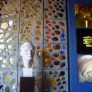Бюст Ю.А. Гагарина в Музее космонавтики и ракетной техники имени В.П. Глушко в Санкт-Петербурге.