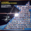 Космонавты и астронавты покорившие космос. Музей космонавтики и ракетной техники имени В.П. Глушко в Санкт-Петербурге.
