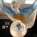 Спускаемый аппарат космического корабля «Союз-16» в Музее космонавтики и ракетной техники имени В.П. Глушко в Санкт-Петербурге.