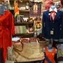 Музей социалистического быта – туника из пионерских галстуков.