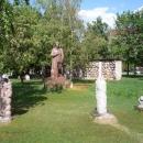 Парк скульптур под открытым небом «Музеон» на Крымской набережной в Москве.