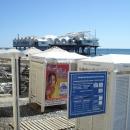 Пляж «Солнечный» у набережной Сочи.