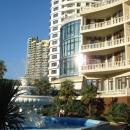 Набережная Сочи. Вид на отель «Дельфин».