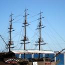 Корабль-ресторан «Флибустьер». Набережная Сочи.