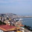 Вид на Неаполитанский залив со смотровой площадки.