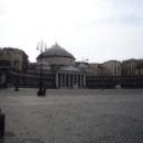 Народная площадь в Неаполе. Базилика Святого Франциска из Паолы.
