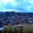 Канатная дорога к форту Нарикала. Тбилиси.