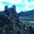 Крепостные стены форта Нарикала в Тбилиси.