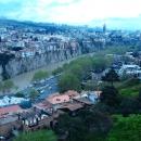 Город Тбилиси у подножья крепости Нарикала.