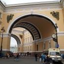 Дворцовая площадь. Арка Главного Штаба. Санкт-Петербург.