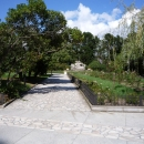Нижний парк Дендрарий в Сочи летом.