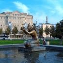 Скульптурный фонтан «Дарящая воду». Новороссийск.