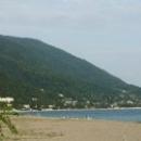 Пляжи Старой Гагры. Абхазия.