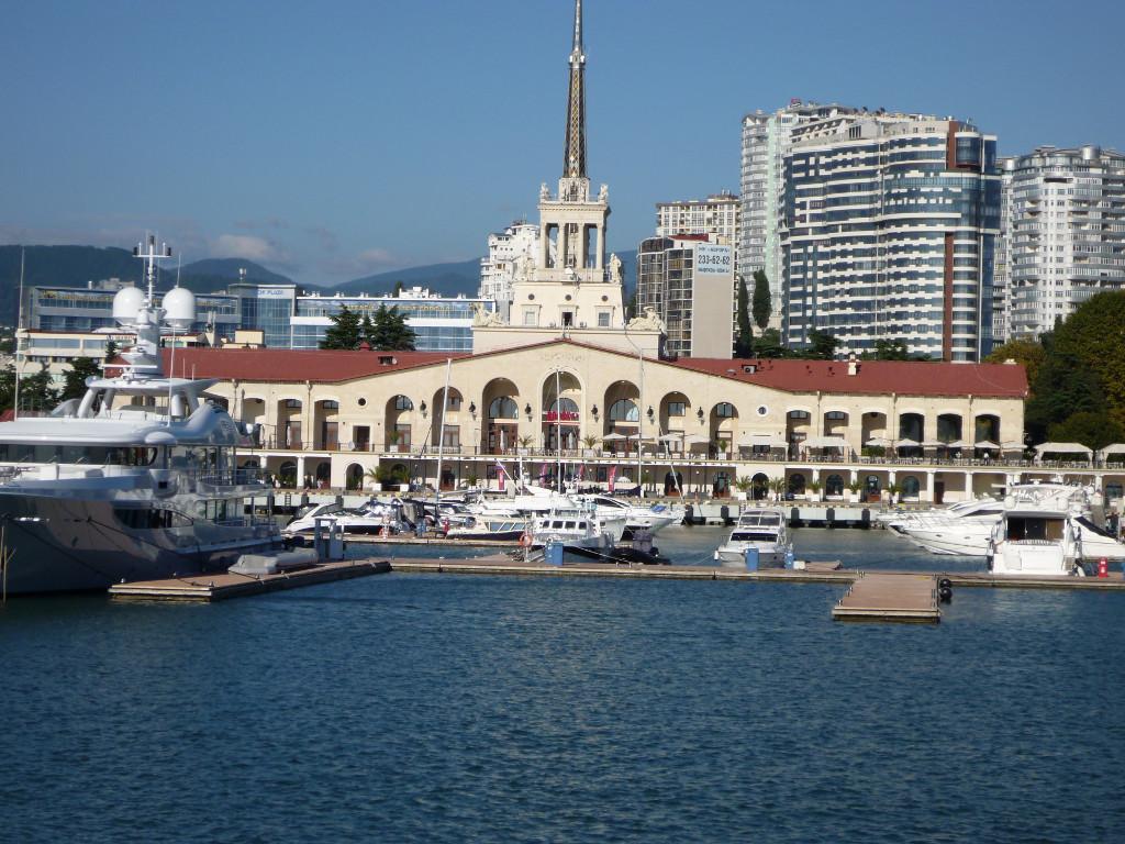 Картинки морского порта сочи