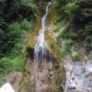 Водопад мужские слезы в Абхазии.