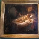 Картина Рембрандта «Даная» (1636-1647). Новый Эрмитаж. Государственный Эрмитаж, Санкт-Петербург.