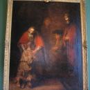 Картина Рембрандта «Возвращение блудного сына» (1666-1669). Новый Эрмитаж. Государственный Эрмитаж, Санкт-Петербург.