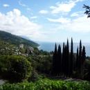 Вид на Гагру. Отдых в Абхазии.