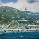Схема курорта Гагра.