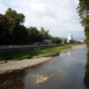 Вид на реку Сочи.