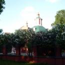Свято-Троицкая Церковь на территории Воронцовского парка в Москве.