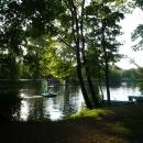 Пруды в Воронцовском парке. В Воронцовском парке можно прокатиться на водных велосипедах, лодках.