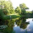 Воронцовский парк на Юго-Западе Москвы знаменит каскадом прудов.