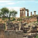 Руины города Коринф