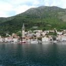Курортный городок Пераст в Черногории.