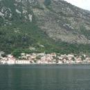 Небольшой старинный город Пераст в Черногории.