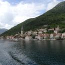 Пераст расположен у подножия холма Святого Ильи в Черногории.