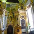 Внутреннее убранство Петропавловского собора.