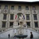 Палаццо делла Карована и статуя Козимо I Медичи.
