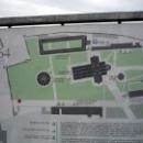 Карта площади чудес в Пизе.