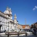 «Фонтан Мавра» на площади Навона в Риме.