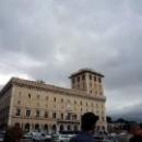 Дворец Венеции на площади Венеции в Риме.