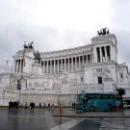 «Vittoriano» или «Алтарь Отечества» на площади Венеции в Риме.