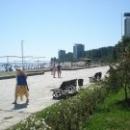 Набережная, пляж и корпуса