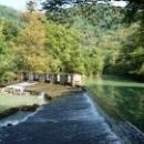 Плотина у Форелевого хозяйства. Абхазия.